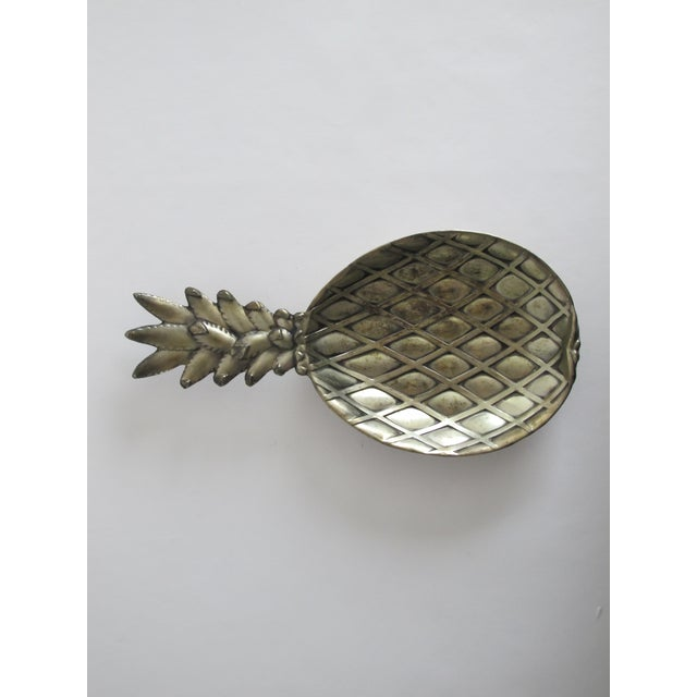 Silver-Plated Pineapple Catchall - Image 3 of 5