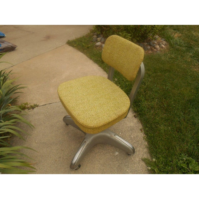 Industrial Steel & Aluminum Cole Office Chair - Image 2 of 5