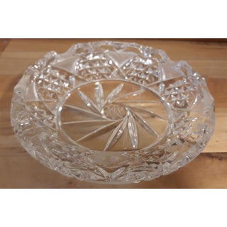 Vintage Hand Cut Lead Crystal Ashtray Preview
