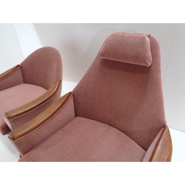 Mid Century His & Hers Adrian Pearsall Lounge Chairs For Sale - Image 11 of 13