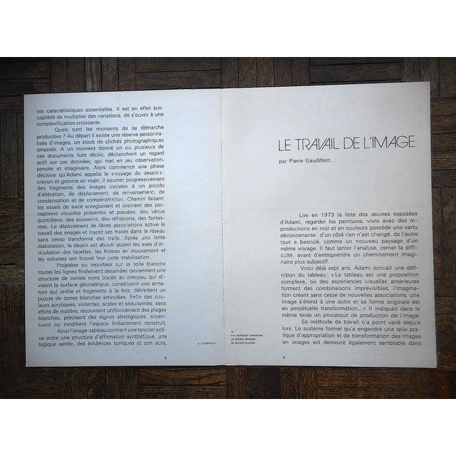 Vintage Mid 20th C. Ltd. Ed Dbl. Page Lithograph-Derriere Le Miroir-Signed-Maeght, Paris For Sale - Image 4 of 6