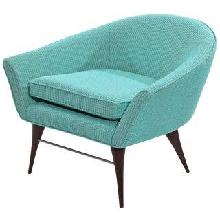 1950s Sculptural Tub Chair by Karpen For Sale