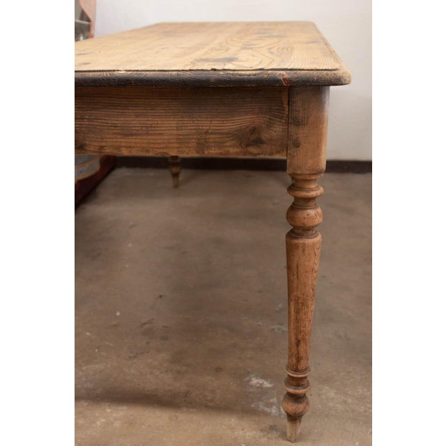 Vintage French Spindle Leg Table - Image 6 of 7