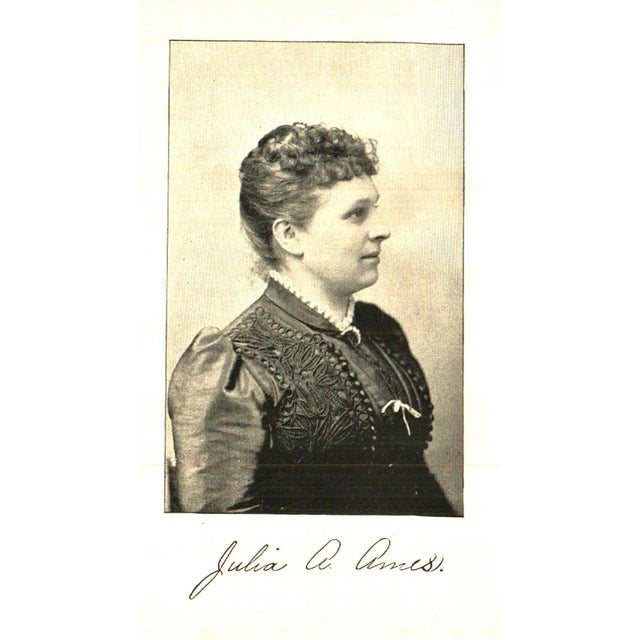 """Traditional 1892 """"A Young Woman Journalist: A Memorial Tribute"""" Collectible Book For Sale - Image 3 of 6"""