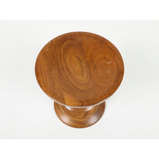 Vintage Herman Miller Eames Timelife Walnut Stool For Sale - Image 6 of 9