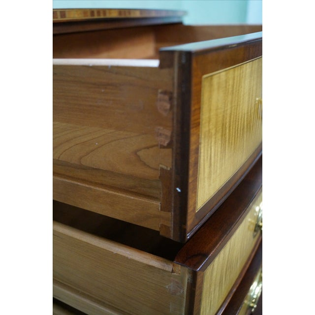 Stickley Colonial Williamsburg Mahogany Chest - Image 6 of 10