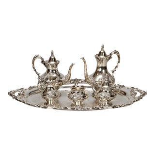 Reed & Barton Silver Plate Coffee Service - 6 Pieces For Sale