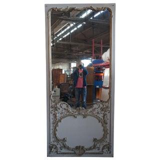 19th Century Italian Baroque Revival Pier Mantel Floor Mirror For Sale