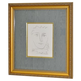 "Vintage ""Pour Roby"" Picasso Etching For Sale"