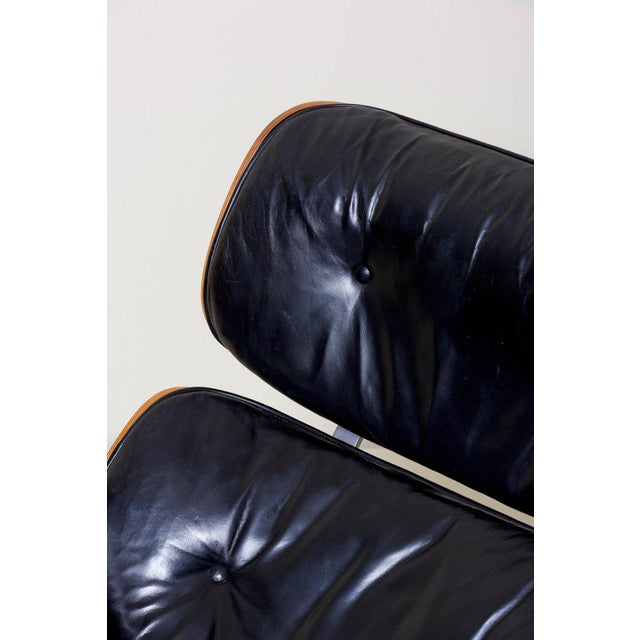Animal Skin Classic Lounge Chair by Ray and Charles Eames for Herman Miller, 1970s For Sale - Image 7 of 12