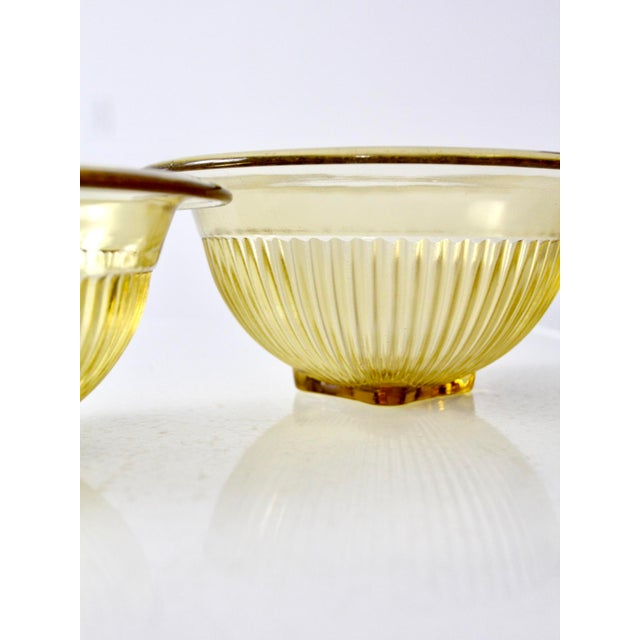 Depression Glass Bowls - A Pair For Sale - Image 7 of 7
