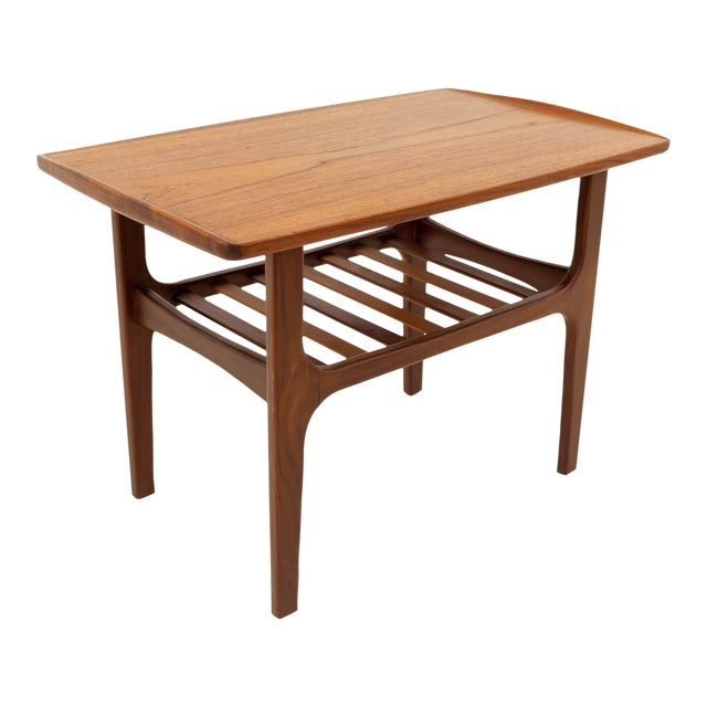 Mid Century Modern Teak Occasional Table For Sale