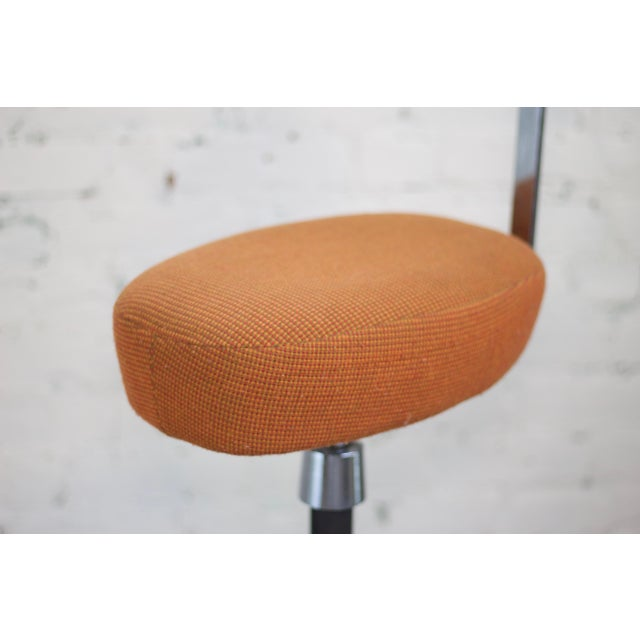 Mid-Century Modern Herman Miller George Nelson Probst Perch Stool For Sale - Image 3 of 8