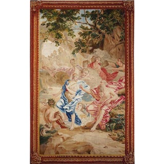 "18th Century Antique Tapestry After De Jan Van Orley and Aurel Augustin Coppens - ""History of Neptune"" For Sale"