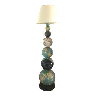 Vintage Globe Floor Lamp For Sale