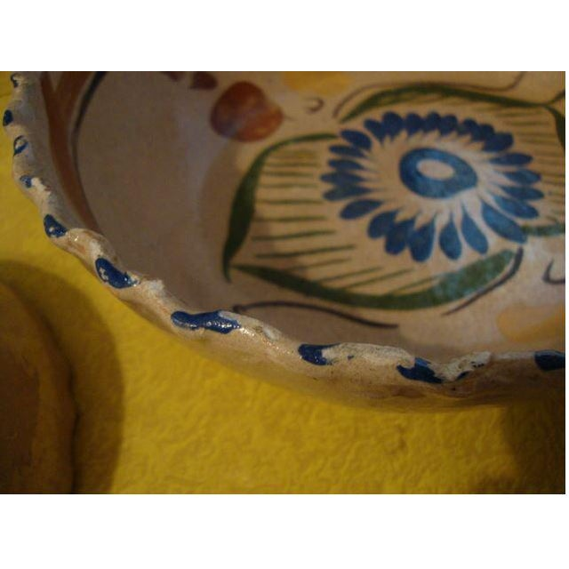 Brick Red Tlaquepaque Mexican Nesting Bowls - Set of 4 For Sale - Image 8 of 10