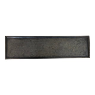 Featured in The 2020 San Francisco Decorator Showcase — Rectangular Bronze Tray For Sale