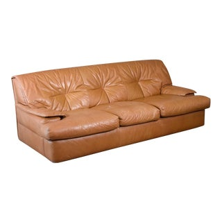 Pace Colletion 'Monique' Leather Three Seat Sofa