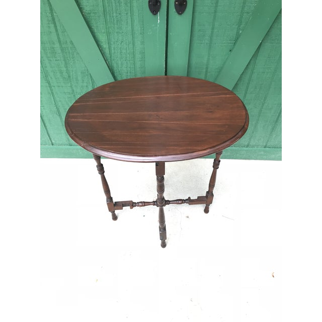 Mid 18th Century Victorian Oval Flip Top or Tilt-Top Table For Sale - Image 13 of 13