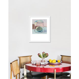 "Medium ""Blue Egg Under Glass"" Print by Caitlin Winner, 18"" X 22"" Preview"