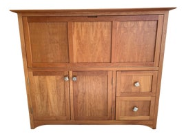 Image of Danish Modern Armoires Wardrobes and Linen Presses