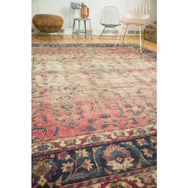 Antique Yazd Carpet - 8' x 10' - Image 10 of 10