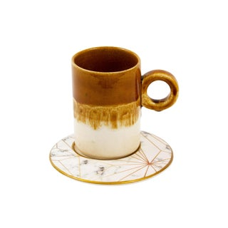 Coffee Mug With Saucer For Sale