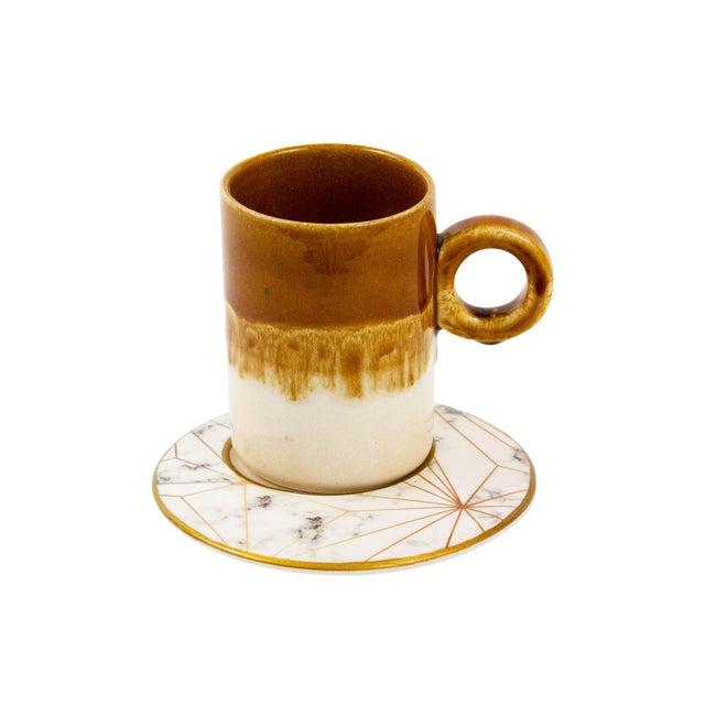 Coffee Mug With Saucer For Sale