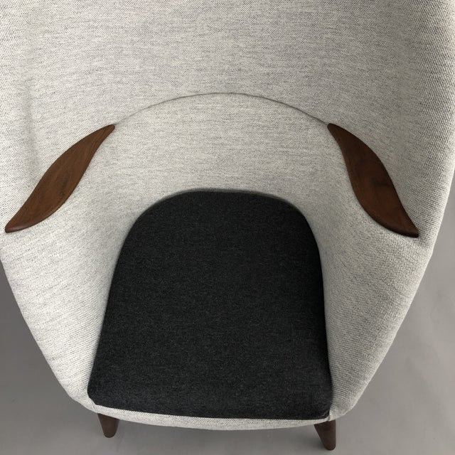 Wood Oda Chair For Sale - Image 7 of 10