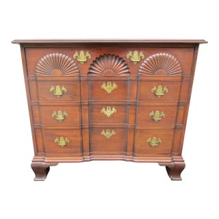 Block Front Four Drawer Dresser or Bachelors Chest