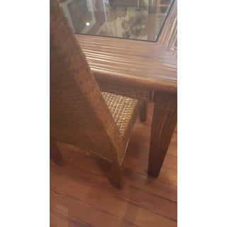 Vintage Rattan & Bamboo Dining Set Preview