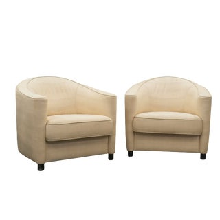 1990s Brayton International 'Club Grande' Lounge Chairs For Sale