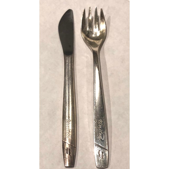 United Airline Vintage Flatware - For Sale - Image 5 of 8