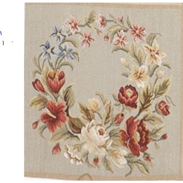 Chinese Floral Aubusson Rug - 5'x 8' - Image 7 of 9