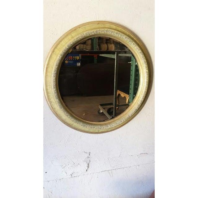 Round Shabby Chic Mirror - Image 2 of 4