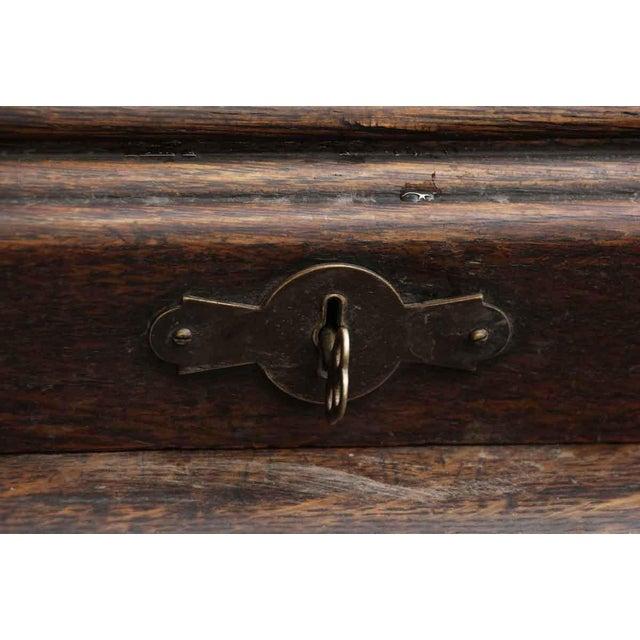 Oak Roll Top Desk with Original Finish - Image 3 of 7