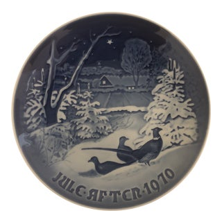 Bing & Grondahl Jule After 1970 Christmas Plate For Sale