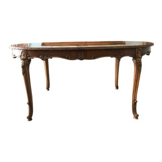 "20th Century Louis XV ""Beaucaire"" Acacia Wood Table For Sale"