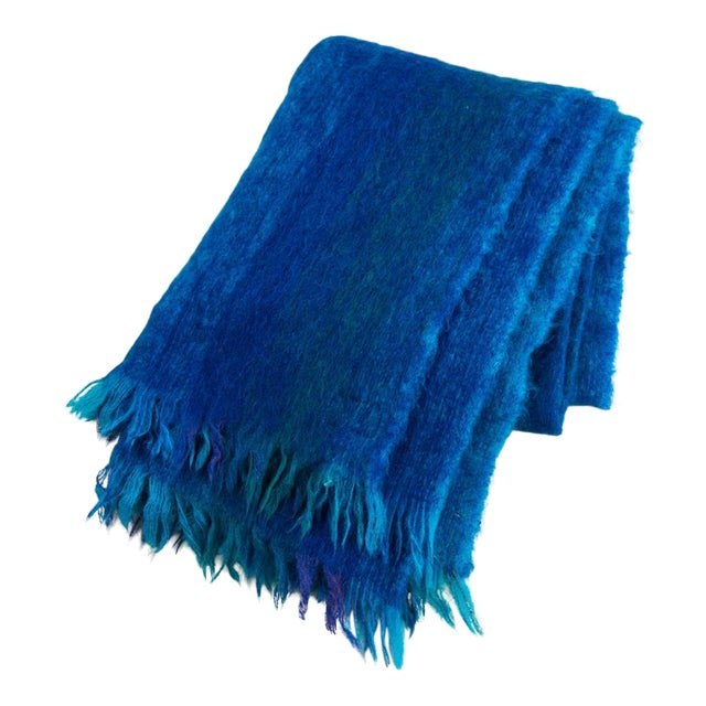 Avoca Handweavers Handmade Mohair Throw - Image 1 of 8
