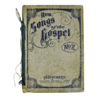 An Antique Printing of '1905 New Songs of the Gospel No. 2' Book For Sale