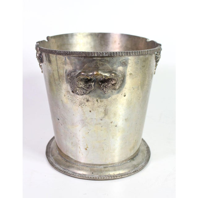 This beautiful English wine cooler is as beautiful displayed as is, filled with flowers or used as a bin in a heavily...