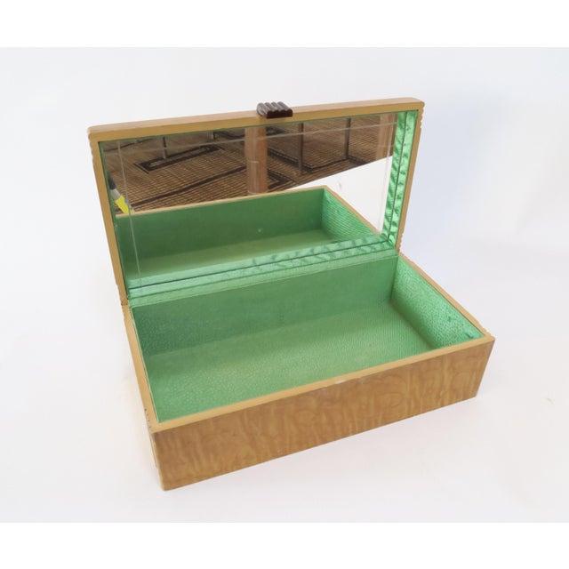 Vintage Decorative Wood Box - Image 6 of 7