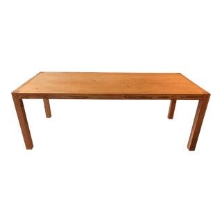 Custom Reclaimed Douglas Fir Table For Sale