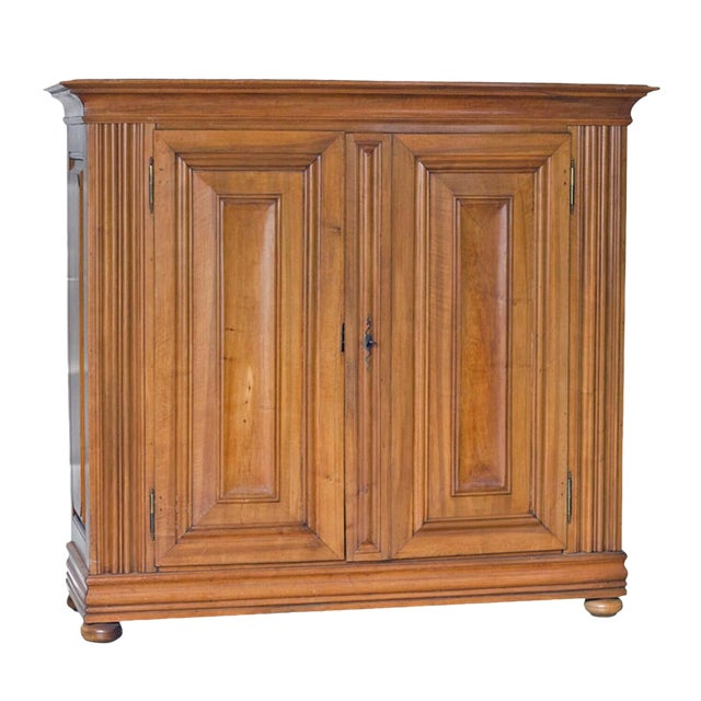 Continental Walnut Cabinet - Image 1 of 4