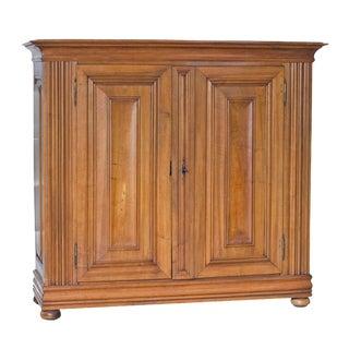Mid 19th Century Continental Walnut Cabinet
