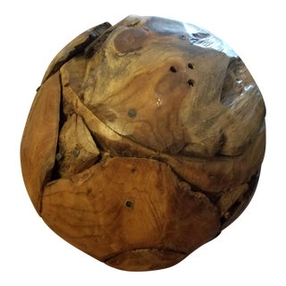 Wood Burl Knot Ball For Sale