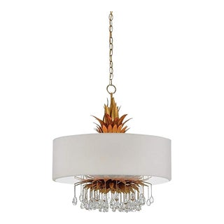 Currey & Company Vivienne Chandelier For Sale