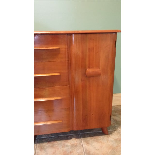 Brown Carl Bissman Danish Modern Credenza For Sale - Image 8 of 11