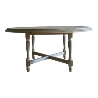 20th Century French Country Farm Table For Sale