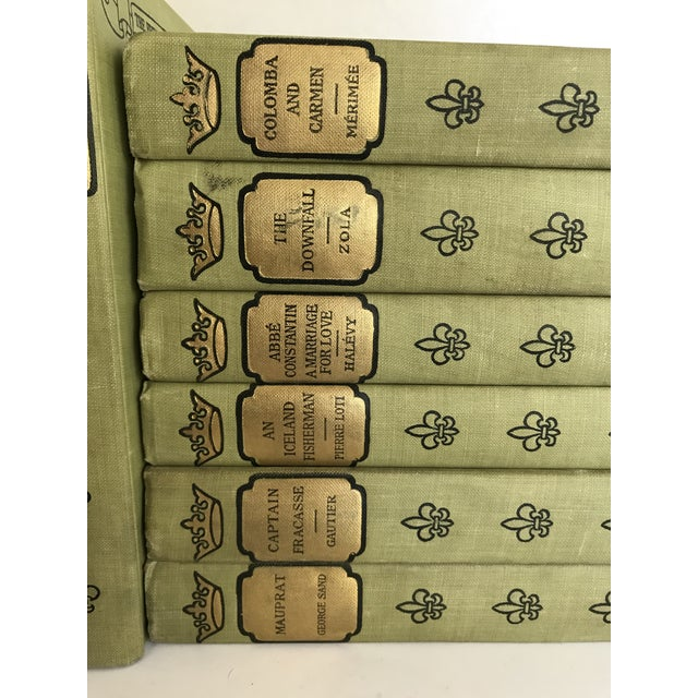 1902 French Romance Set of 13 Classic Books For Sale - Image 4 of 8